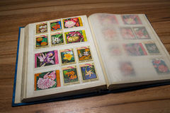 Collection de timbres 7 Images stock