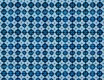 Collection de tuiles de modèles de bleu et de turquoise image libre de droits