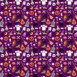 Collection de vecteur de symboles de Halloween Image stock
