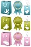 Collection de vente de Pâques ou de ressort Photos libres de droits