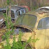 Collection de voiture d'occasion Photos stock