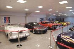 Collection de voitures américaines Photos stock