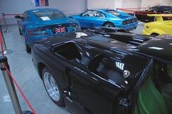 Collection de voitures de sport images libres de droits