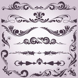 Collection of decorative elements 2 Stock Photography