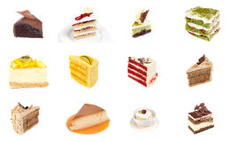 Collection of delicious dessert Royalty Free Stock Image