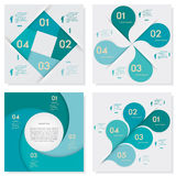 Collection of Design clean number banners template. Design clean number banners template/graphic or website layout. Vector Royalty Free Stock Photo