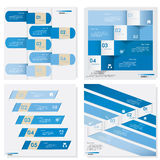 Collection of Design clean number banners template. Vector. Design clean number banners template/graphic or website layout. Vector Stock Photography
