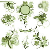Collection of  design elements Stock Photos