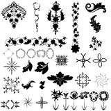 Collection of design elements Royalty Free Stock Photography