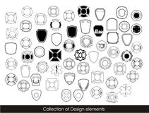 Collection of design elements Stock Photo