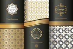 Collection of design elements,labels,icon,frames, for packaging,design of luxury products. vector illustration