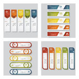 Collection of 4 design template/graphic layout. Vector. Collection of 4 design template/graphic or website layout. Vector Background. For your idea and Stock Photo