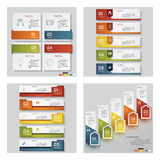 Collection of 4 design template/graphic layout. Vector. Collection of 4 design template/graphic or website layout. Vector Background. For your idea and Royalty Free Stock Images