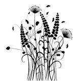 Collection for designers, meadow in summertime, plant vector set Stock Photo