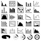 Collection of diagrams Stock Photo