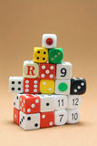 Collection of Dice Royalty Free Stock Photo