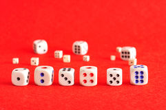 Collection of dice Stock Image