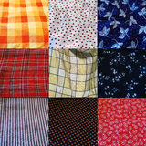 Collection of different cloths Royalty Free Stock Image