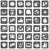 Portfolio icons stock illustration