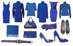 Collection of dress and shoes Stock Photography