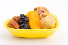 Collection of dried fruits for iftar in Ramadan Royalty Free Stock Photos