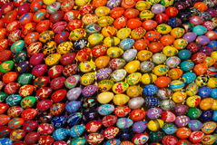A collection of Easter eggs Royalty Free Stock Photos