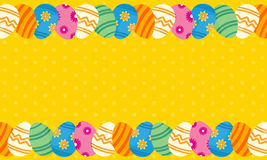 Collection of easter theme greeting card Royalty Free Stock Photography