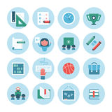 Collection of Education Icons Royalty Free Stock Image