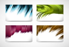 Collection  elegant business card Royalty Free Stock Photo