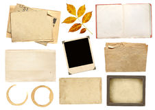 Collection elements for scrapbooking Royalty Free Stock Image