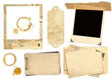 Collection elements for scrapbooking Stock Image