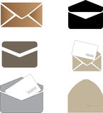 Collection of Envelope Royalty Free Stock Photos