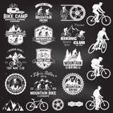 Collection faisante du vélo de montagne Illustration de vecteur illustration de vecteur