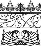 Collection of fences () Stock Photo