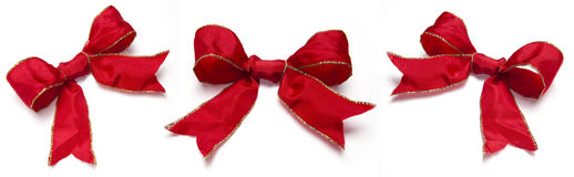 Collection of festive ribbons Stock Photography