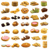 Collection of fine pastry Stock Photo