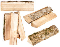 Collection of firewood Stock Photography