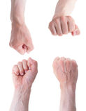 Collection of fist views. Stock Image
