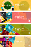 Collection of flat web infographic concepts and Stock Photography