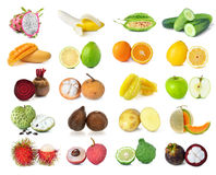 Collection of food Stock Photography
