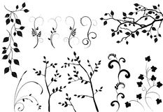 Collection For Designers - Vector Set Royalty Free Stock Images