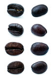 Various Coffee Beans Stock Photos
