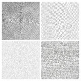 Collection of four hand drawn vector backgrounds. Collection of four hand drawn vector abstract backgrounds Royalty Free Stock Images