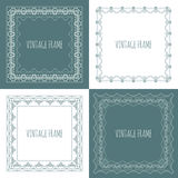 Collection of four stylish vintage frame Stock Photos