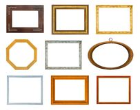 Collection of frames Royalty Free Stock Photos