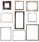Collection of frames for your pictures Royalty Free Stock Images
