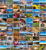 Collection of France images. Collage Royalty Free Stock Images