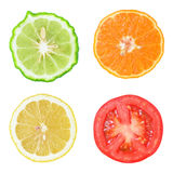 Collection of fresh fruit and vegetable Royalty Free Stock Photography