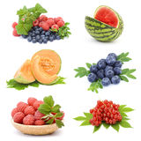 Collection of fresh fruits Stock Photography