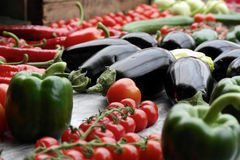 Collection of fresh produce Royalty Free Stock Image